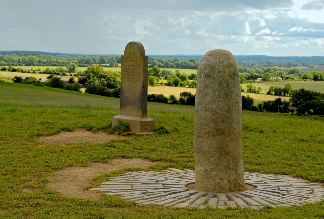 'The Stone of Destiny at the Hill of Tara' - Ireland