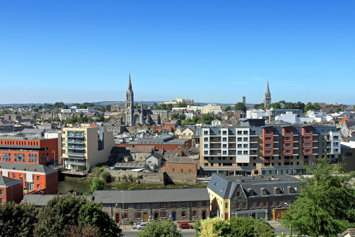'A townscape view of Drogheda, County Louth.' - Ireland