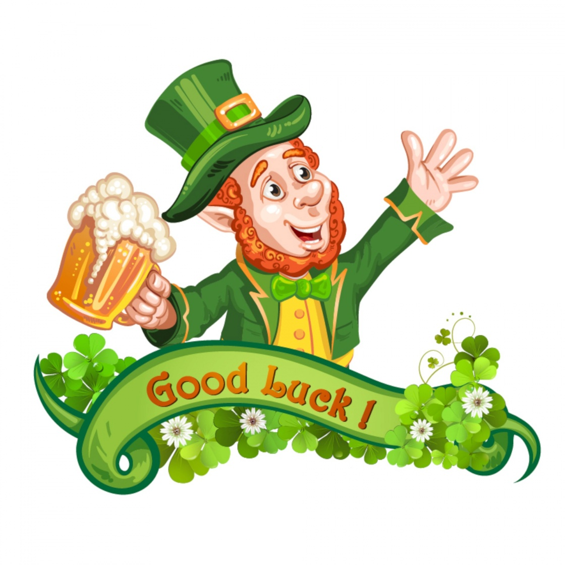 The legend of leprechauns leprechaun drinking beer st patricks day cartoon ireland altavistaventures