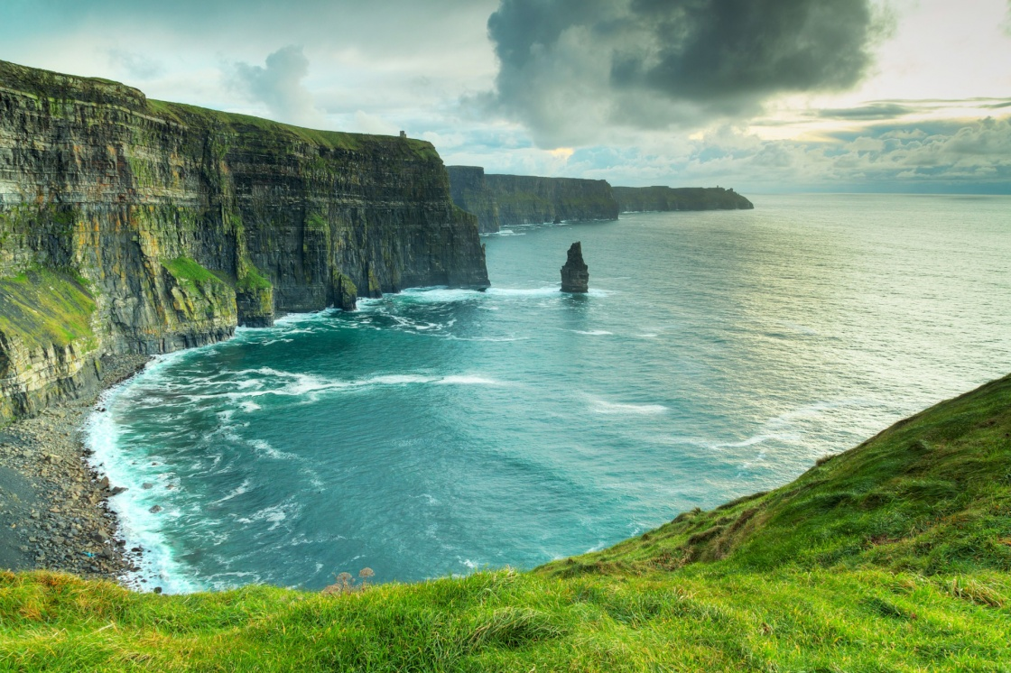 'Cliffs of Moher at sunset, Co. Clare, Ireland' - Ireland