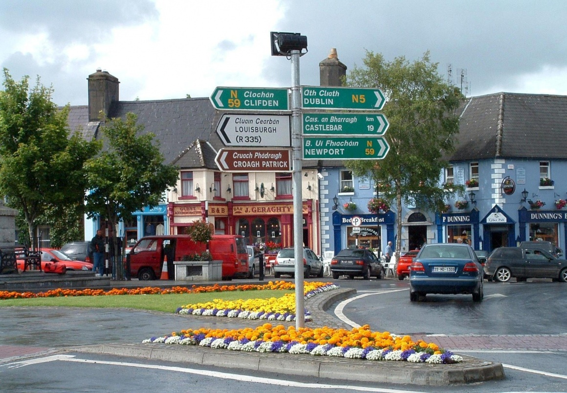 Westport in Ireland